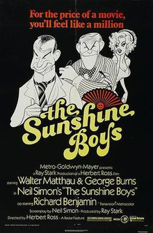 The Sunshine Boys 1975 Film Wikipedia
