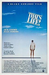 <i>Thats Life!</i> (film) 1986 film by Blake Edwards