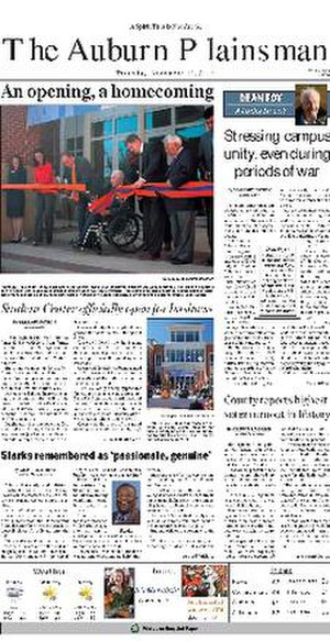 The Auburn Plainsman - Image: The Auburn Plainsman