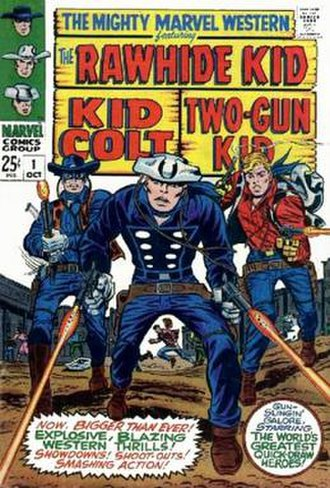 The Mighty Marvel Western - Image: The Mighty Marvel Western no 1