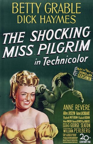 The Shocking Miss Pilgrim - Original poster