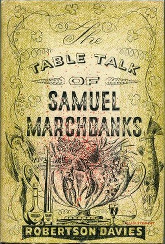 The Table Talk of Samuel Marchbanks - First edition