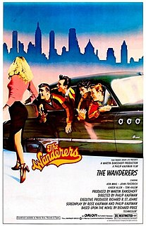 <i>The Wanderers</i> (1979 film) 1979 film directed by Philip Kaufman