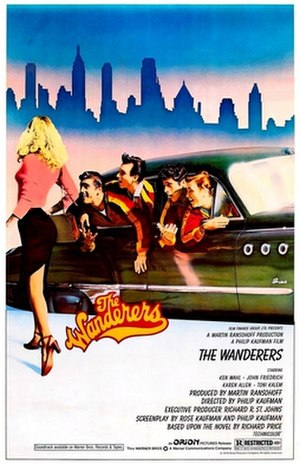 The Wanderers (1979 film) - Theatrical release poster