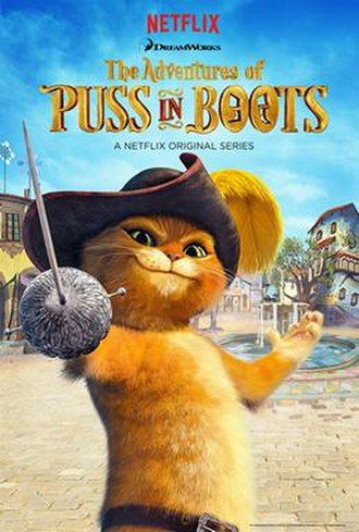 The Adventures of Puss in Boots - Promotional poster for the series.