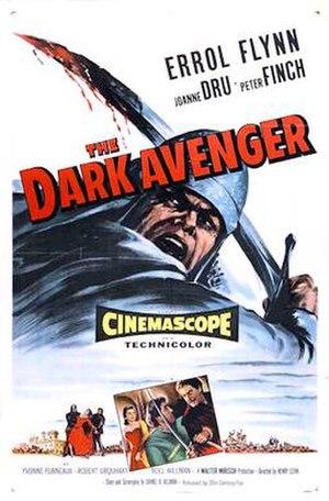 The Dark Avenger - 1955 British Theatrical Poster