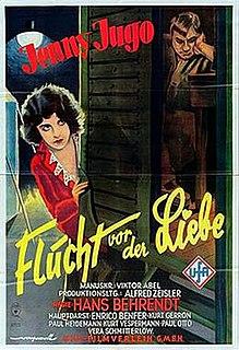 <i>The Flight from Love</i> 1929 film