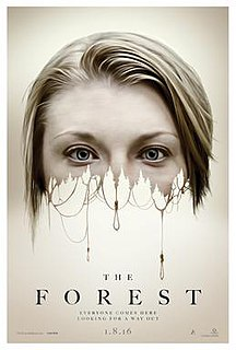 <i>The Forest</i> (2016 film) 2016 American supernatural horror film directed by Jason Zada