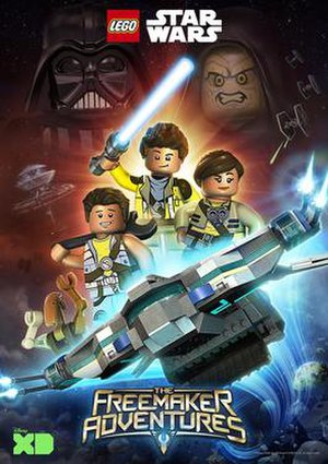 Lego Star Wars: The Freemaker Adventures - Promotional poster