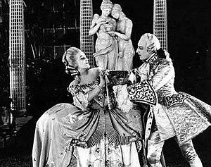The Loves of Casanova - Rina De Liguoro with Ivan Mozzhukhin