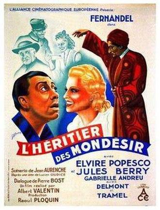 The Mondesir Heir - Film poster