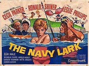 The Navy Lark (film) - Image: The Navy Lark Film Poster