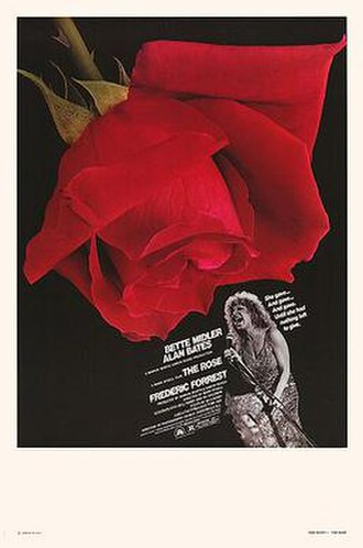 The Rose (film) - Theatrical release poster