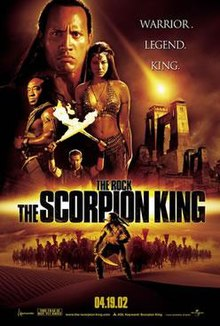 the rock the scorpion king