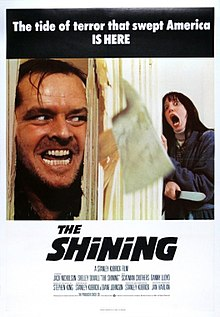 The Shining (1980) U.K. release poster - The tide of terror that swept America IS HERE.jpg