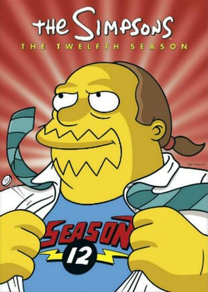 The Simpsons (season 12) - DVD cover