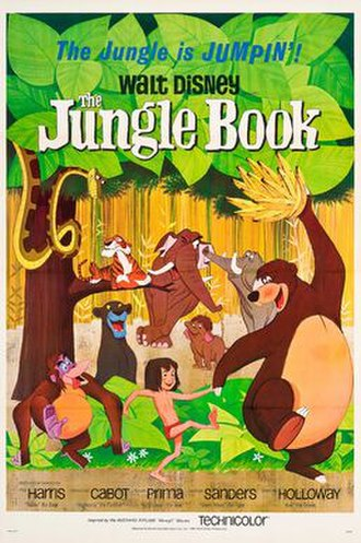 The Jungle Book (1967 film) - Theatrical release poster