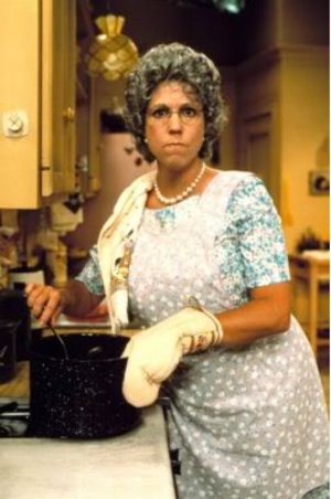 Thelma Harper - Vicki Lawrence as Thelma Harper from her kitchen on an episode of Mama's Family