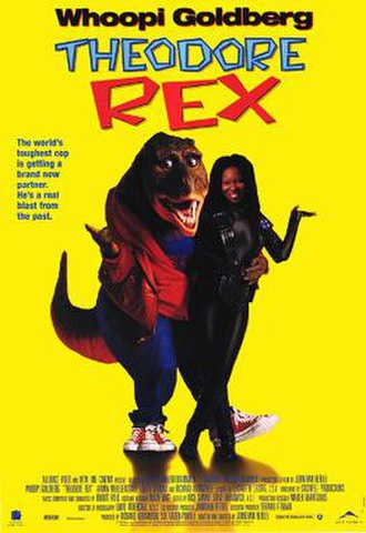 Theodore Rex (film) - Theodore Rex Canadian video poster
