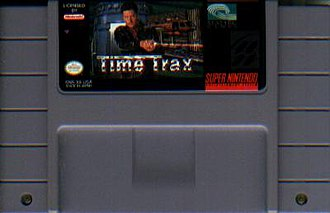 Time Trax - Image: Time Trax SNES Game Cartridge