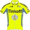 Tinkoff (cycling team) jersey
