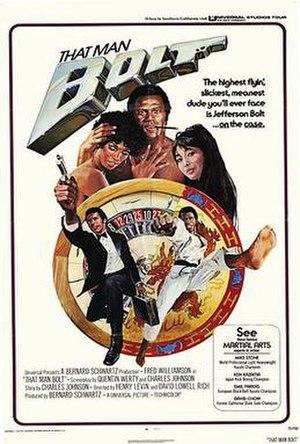 That Man Bolt - Original film poster