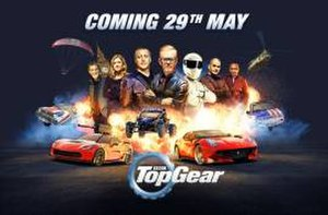 Top Gear (series 23) - Promotional poster