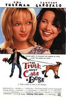 <i>The Truth About Cats & Dogs</i> 1996 film by Michael Lehmann