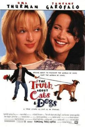 The Truth About Cats & Dogs - Image: Truth about cats and dogs movie poster