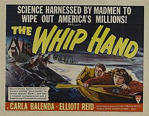 The Whip Hand - original US half-sheet film poster