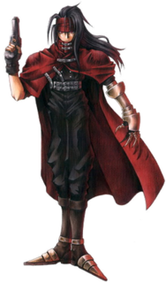 Vincent Valentine character in Final Fantasy VII