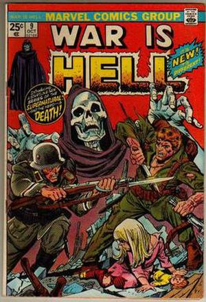 War Is Hell (comics) - Image: War Is Hell 9