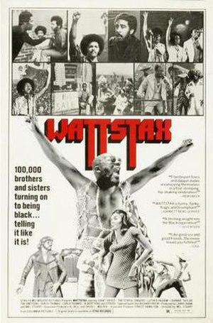 Wattstax - Theatrical poster