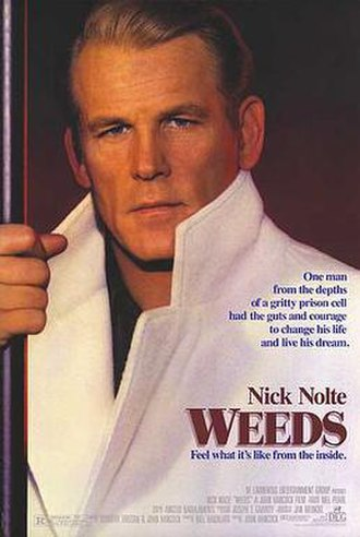 Weeds (1987 film) - Theatrical release poster