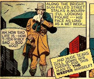Weeper (DC Comics) - Image: Weeper Mortimer Gloom