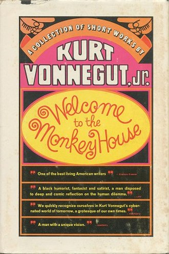 Welcome to the Monkey House - First edition cover