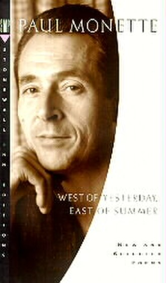 Paul Monette - Monette on the cover of West of Yesterday, East of Summer
