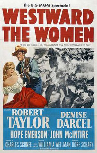 Westward the Women - Theatrical film poster