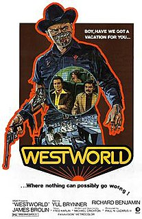 <i>Westworld</i> (film) 1973 science fiction film directed by Michael Crichton