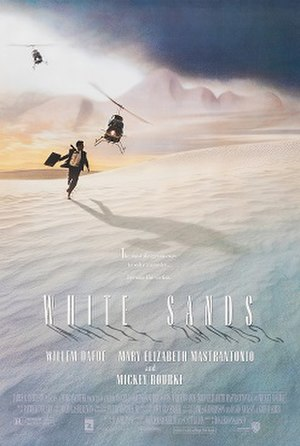 White Sands (film) - Theatrical release poster