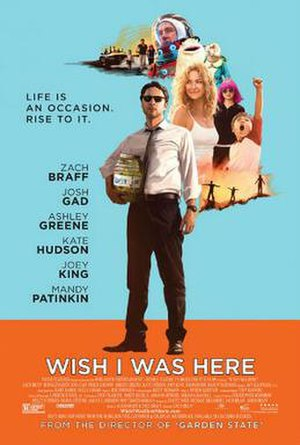 Wish I Was Here - Theatrical release poster
