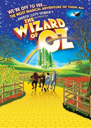 The Wizard of Oz (2011 musical) - Image: Wiz of oz london