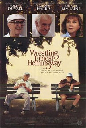 Wrestling Ernest Hemingway - Theatrical release poster