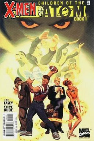 X-Men: Children of the Atom (comics) - Cover of the 1st issue