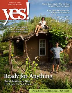 <i>Yes!</i> (U.S. magazine) Nonprofit independent publisher