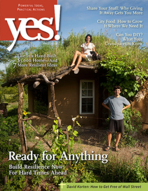 Yes! (U.S. magazine) - Fall 2010 cover of Yes!