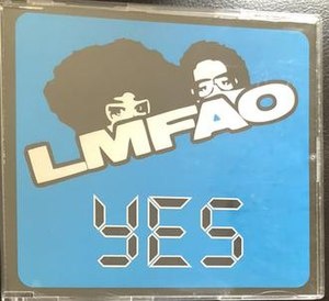 Yes (LMFAO song) - Image: Yes LMFAO song