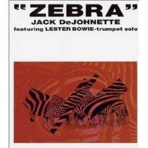Zebra (Jack DeJohnette album) - Image: Zebra (album)