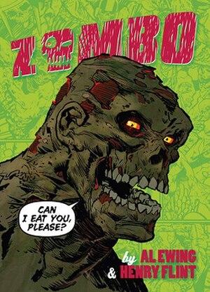 Zombo (comics) - Image: Zombo Collect Ed Cover Art By Henry Flint