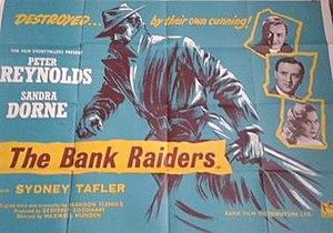 The Bank Raiders - Original British quad poster
